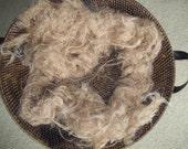 Nest Fluff Burlap Newborn Photography Prop Basket filler Basket stuffer Photo Prop Organic Nest filler
