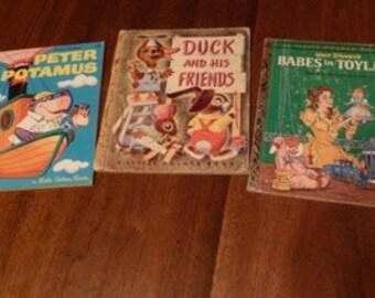Set of Vintage Children's Books