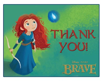 Brave Thank You Card