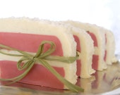 Apple Spice Cake Soap - 6 oz. slice - w/ Ground Vanilla Beans and Aloe Butter