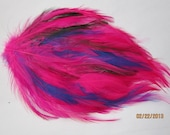 Selling Out Rooster Hackle Feather Pad for hair accessories or other projects