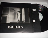 Bauhaus In the Flat Field Vinyl LP Lyric Picture Inner Sleeve 1980 4AD UK Import CAD 13 Goth Peter Murphy