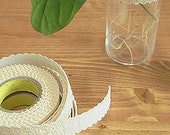 Natural Lace Adhesive Fabric Tape - 05.Beige (0.7in)