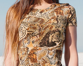 Wild Cats - Stretchy Tee (S)
