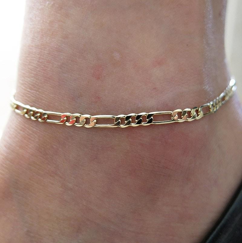 anklet gold anklet chain anklet anklet bracelet boho by