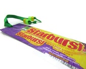 Starburst Recycled / Upcycled Candy Wrapper Bookmark - Fiesta Flavor - Great Stocking Stuffer
