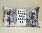 Keep Calm and Ride On pillow
