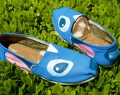 KOOAK Kustoms Disney Stitch Inspired Toms Flats