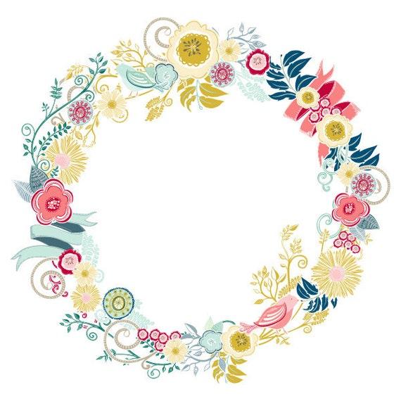 clipart flower wreath - photo #3
