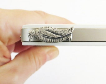 Penguin iPhone Dust Plug- Anti-Dust Plug For Headphone Jack- Cellphone/ iPhone Accessories- Silver