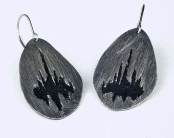 Dweller on the Threshold dangle earrings 50% off READY TO SHIP was 90