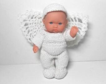 Berenguer Boy Angel Doll, Angel, Angel Doll, Christmas Doll, Christmas Angel