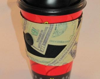 Money Coffee Sleeve Cup Cozy