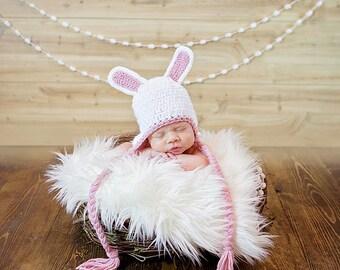 Crochet Pattern - Bunny Hat Pattern