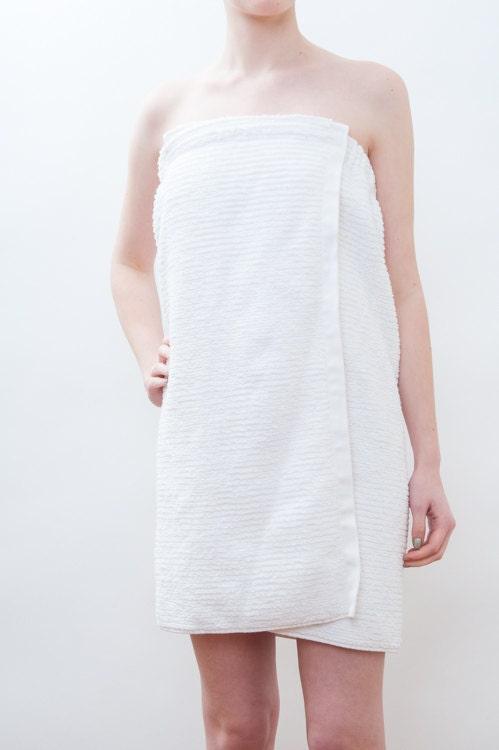 Spa Towel Wrap Pdf Sewing Pattern Great Bath By