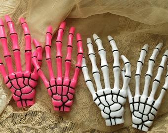 4 Pcs of Skeleton hand