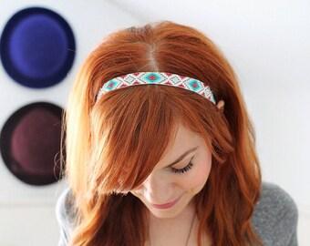 Native Inspired Beaded Headband