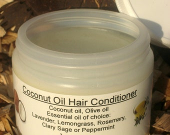 Coconut Oil Hair Moisturizer, Dry Hair Conditioner, Beard Oil, Body Moisturizer