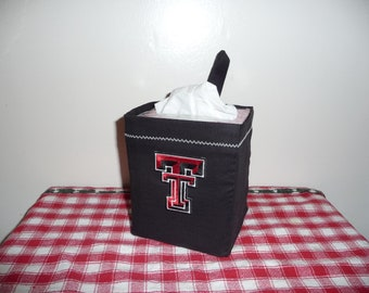 Kaaachews Hanging Tissue Holders for the Car- University, College, or HS Colors/LOGO