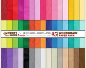 Wood Grain Pattern - INSTANT DOWNLOAD - Digital Paper Mega Pack - WP403C16a