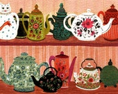 Tea Pot Collection