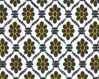 Griselda Floral Damask in Citron Gray - Michael Miller Fabrics