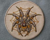 Steampunk Spider Iron on Patch
