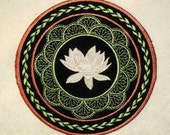 Lotus Flower Iron on Patch