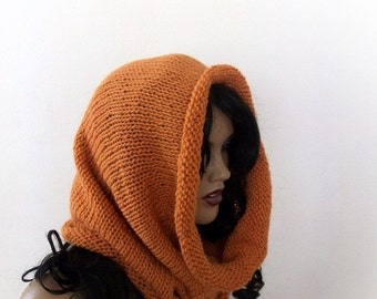 Orange hood style cowl