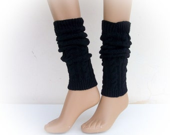 Black Leg Warmers-ready to ship