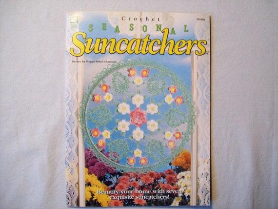 Crochet Seasonal Suncatchers Thread Crochet By Cozyhomecrochet