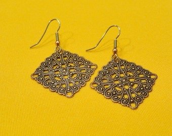 Did you say you want big copper earrings (Style #432)