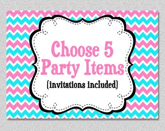 Party Package - Custom Party Package Choose any 5 items