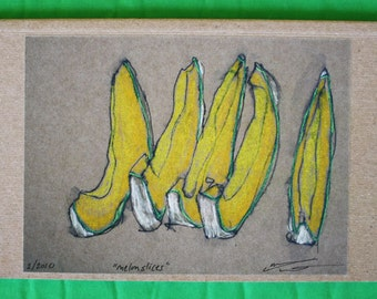 Melon Slices Eco-journal or sketchbook