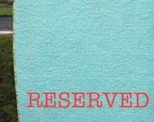 CUSTOM ORDER quilt