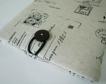 Ipad case sleeve for Ipad 3  /ipad 4 - Paris postcard