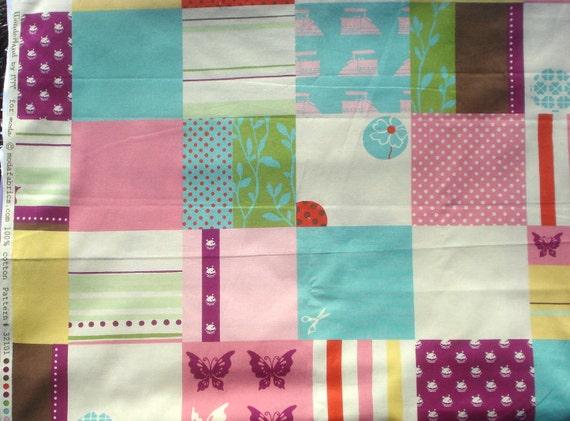 SALE : MoMo Wonderland Mad Hatter jam pink moda fabrics FQ or more