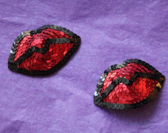 Read My Lips Burlesque Pasties