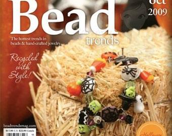 NEW Bead Trends Magazine October 2009 SBC