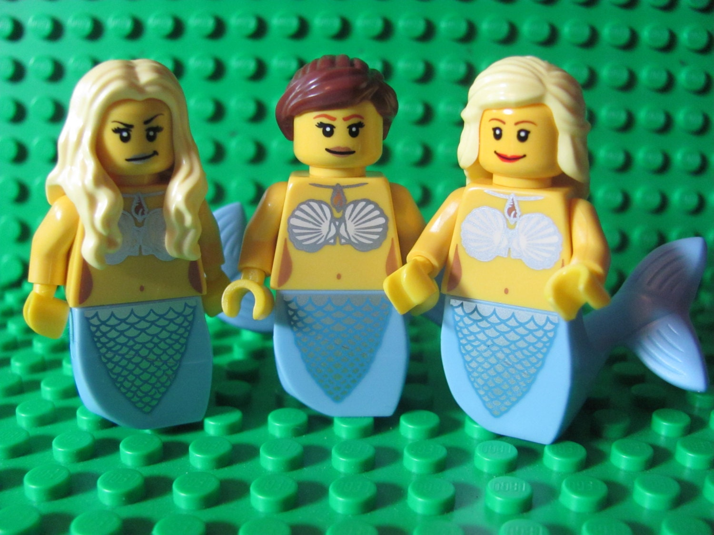 Custom Minifigures H20 Just Add Water Inspired Mermaids