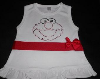 Sleeveless Elmo T Shirt