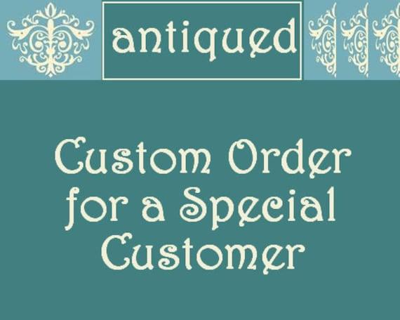 Custom Order for wintergardenstudios