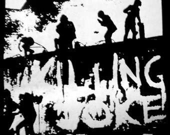 Killing Joke Punk Goth Patch Deathrock