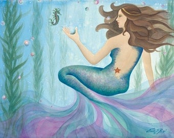 Carolina Mermaid PRINT