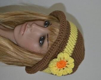 Brown Crusher Hat