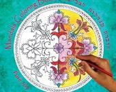 Pure Joy - Unique Mandala Coloring Book With 18 Different Mandalas - Meditation Book - Yoga Book - Relaxing Art