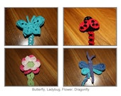 Garden Whimsy Soother Clip PATTERNS