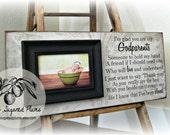 Baptism Gift for Godparents, Christening Gift, Godparents Gift, Godfather, Godmother, Personalized Picture Frame 8x20