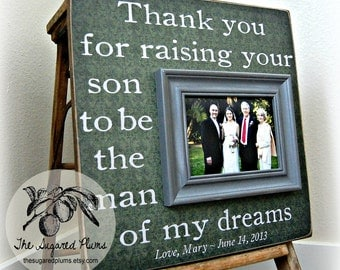 Wedding Gift Ideas For Parents Of Bride And Groom : of the groom mother in law gift wedding gift for parents parents ...