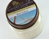 Butt Naked Soy Candle Mason Jar Phthalate Free